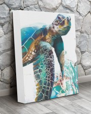 Turtle Art 2606 11x14 Gallery Wrapped Canvas Prints aos-canvas-pgw-11x14-lifestyle-front-13