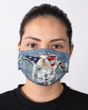 Llamas Orders SHIP WITHIN 3 TO 5 business days Cloth face mask aos-face-mask-lifestyle-01