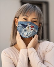 Llamas Orders SHIP WITHIN 3 TO 5 business days Cloth face mask aos-face-mask-lifestyle-17