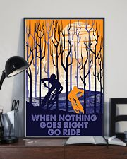 When nothing goes right go ride 11x17 Poster lifestyle-poster-2