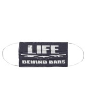 Life Behind Bars 0517 Cloth face mask aos-face-mask-coverlet-lifestyle-front-01