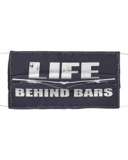 Life Behind Bars 0517 Cloth face mask front