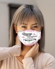 My Husband Think I'm Freaking Crazy Cloth face mask aos-face-mask-lifestyle-18