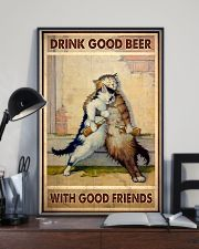 Drink Good Beer With Good Friends - CAT 11x17 Poster lifestyle-poster-2