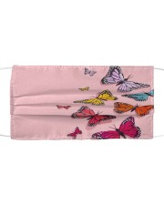 Super Butterfly Face Mask Cloth face mask front