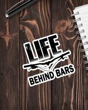 MTB Sticker Life Behind Bars Sticker - Single (Vertical) aos-sticker-single-vertical-lifestyle-front-05