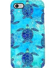 Turtle Mask 10011 Phone Case tile