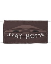 Sloth Stay Home FM Cloth face mask front