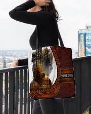 Horse Lady All-over Tote aos-all-over-tote-lifestyle-front-05