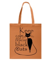 Black Cats Tote Bag front