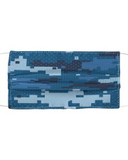 Navy Face Mask Cloth face mask front
