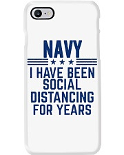 Navy Social Distancing For Years Phone Case thumbnail