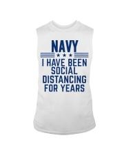 Navy Social Distancing For Years Sleeveless Tee thumbnail