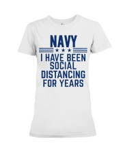 Navy Social Distancing For Years Premium Fit Ladies Tee thumbnail