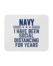 Navy Social Distancing For Years Mousepad thumbnail
