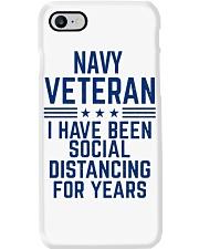 Navy Veteran Social Distancing Phone Case thumbnail