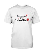 Ice Cream Is My Valentine Classic T-Shirt thumbnail