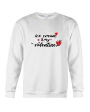 Ice Cream Is My Valentine Crewneck Sweatshirt thumbnail