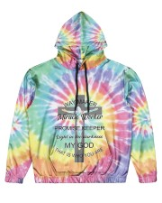 Way maker miracle worker 3D  Men's All Over Print Hoodie thumbnail