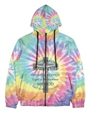 Way maker miracle worker 3D  Men's All Over Print Full Zip Hoodie thumbnail