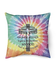 "Way maker miracle worker 3D  Indoor Pillow - 16"" x 16"" thumbnail"