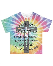 Way maker miracle worker 3D  All-over T-Shirt thumbnail