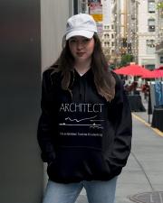 Architect -Architect best Architect- Architect tee Hooded Sweatshirt lifestyle-unisex-hoodie-front-5