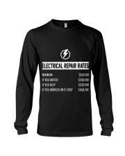 ELECTRICIAN ELECTRICIAN ELECTRICIAN ELECTRICIAN  Long Sleeve Tee thumbnail