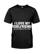 GIRLFRIEND GIRLFRIEND GIRLFRIEND GIRLFRIEND - Tee Classic T-Shirt thumbnail