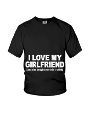 GIRLFRIEND GIRLFRIEND GIRLFRIEND GIRLFRIEND - Tee Youth T-Shirt thumbnail