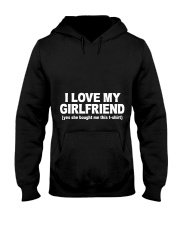 GIRLFRIEND GIRLFRIEND GIRLFRIEND GIRLFRIEND - Tee Hooded Sweatshirt front