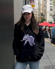 Elephant Elephant Elephant Elephant Elephant - Tee Hooded Sweatshirt lifestyle-unisex-hoodie-front-5