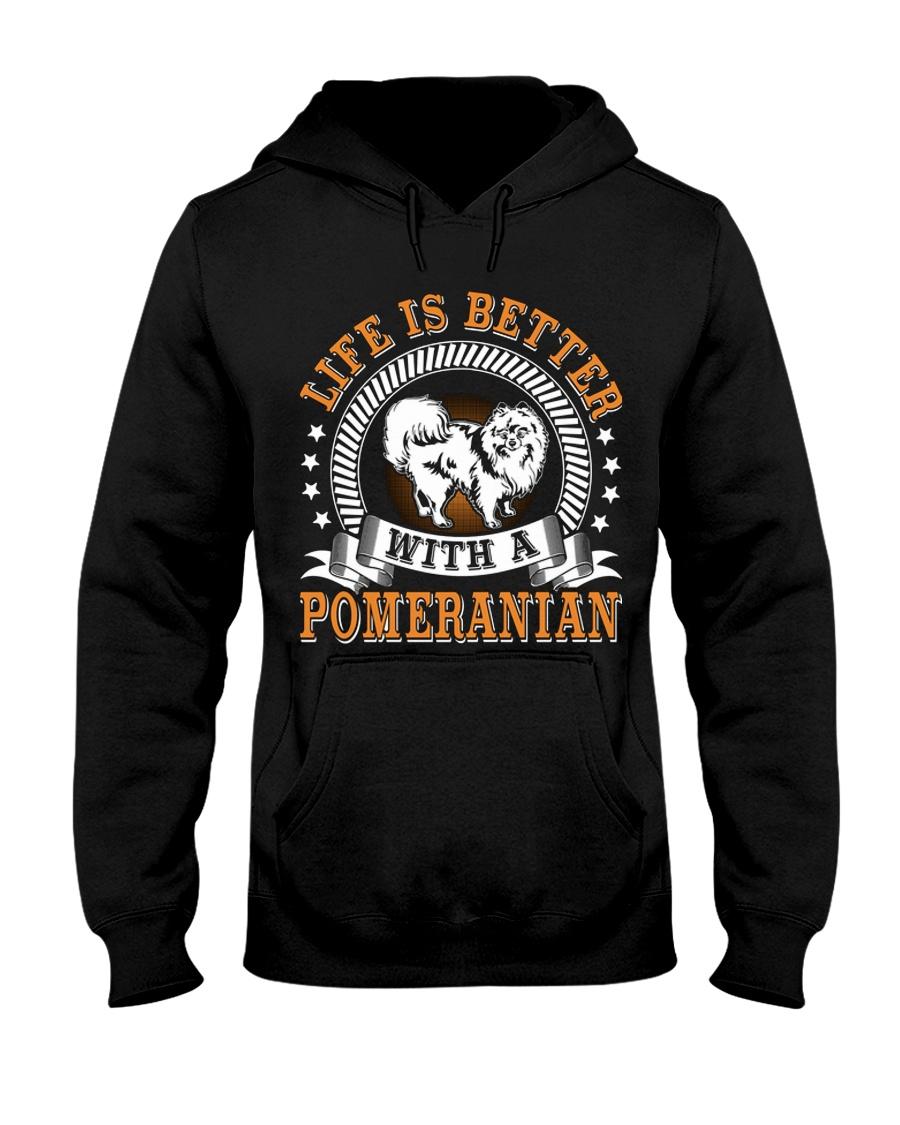 POMERANIAN POMERANIAN POMERANIAN POMERANIAN  Hooded Sweatshirt