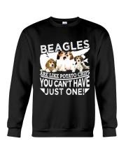 Beagle Beagle Beagle Beagle Beagle Beagle - Tee  Crewneck Sweatshirt thumbnail