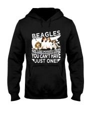 Beagle Beagle Beagle Beagle Beagle Beagle - Tee  Hooded Sweatshirt front