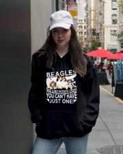 Beagle Beagle Beagle Beagle Beagle Beagle - Tee  Hooded Sweatshirt lifestyle-unisex-hoodie-front-5