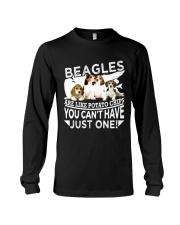 Beagle Beagle Beagle Beagle Beagle Beagle - Tee  Long Sleeve Tee thumbnail