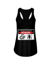 GIRLFRIEND GIRLFRIEND GIRLFRIEND GIRLFRIEND - Tee Ladies Flowy Tank thumbnail