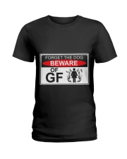 GIRLFRIEND GIRLFRIEND GIRLFRIEND GIRLFRIEND - Tee Ladies T-Shirt thumbnail