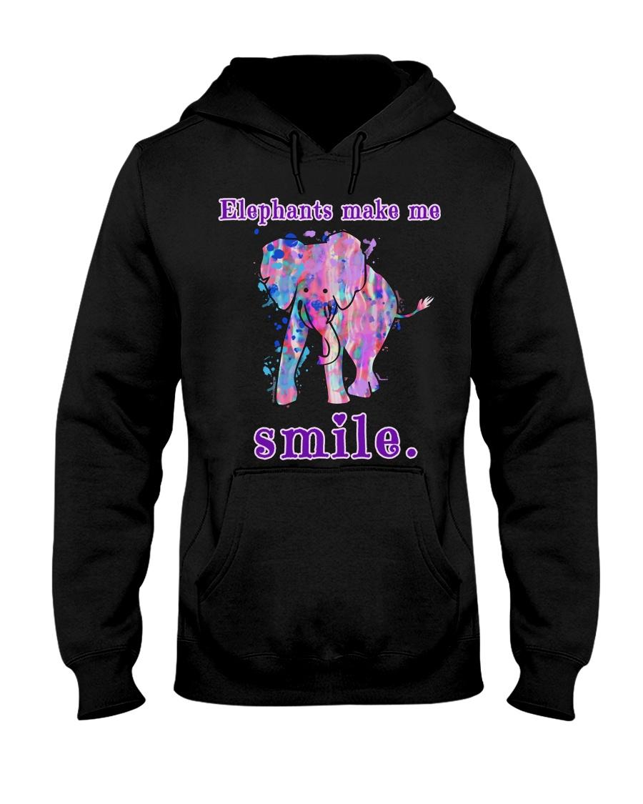 Elephant Elephant Elephant Elephant Elephant - Tee Hooded Sweatshirt