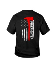 FIREFIGHTER FIREFIGHTER FIREFIGHTER FIREFIGHTER Youth T-Shirt tile