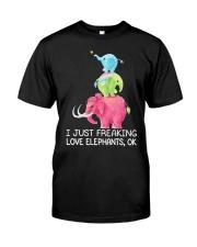 Elephant Elephant Elephant Elephant Elephant - Tee Classic T-Shirt thumbnail