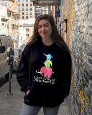 Elephant Elephant Elephant Elephant Elephant - Tee Hooded Sweatshirt lifestyle-unisex-hoodie-front-1