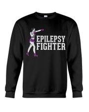 EPILEPSY EPILEPSY EPILEPSY EPILEPSY AWARENESS Crewneck Sweatshirt thumbnail