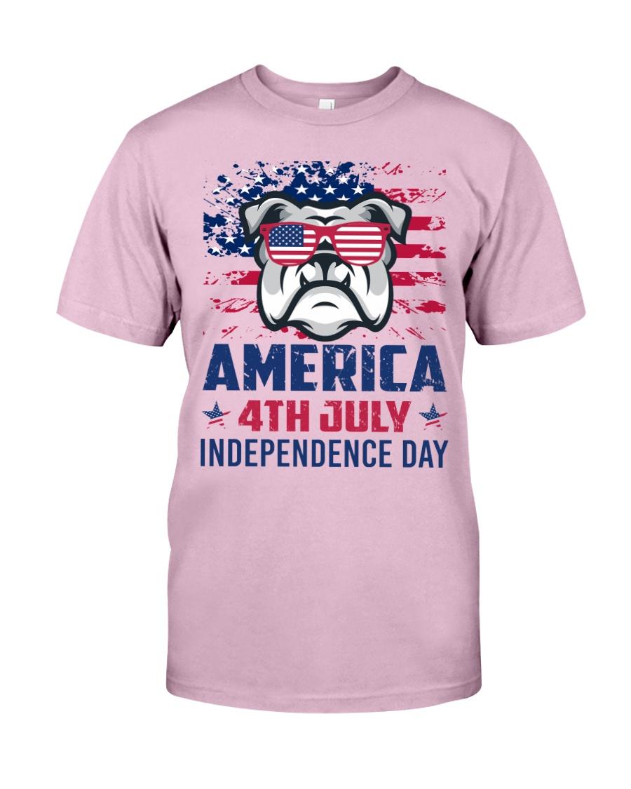 BULLDOG Happy 4th of July - 4th July Classic T-Shirt