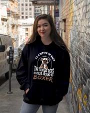 Boxer Boxer Boxer Boxer Boxer Boxer Boxer Boxer  Hooded Sweatshirt lifestyle-unisex-hoodie-front-1
