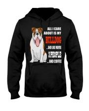 BULLDOG BULLDOG BULLDOG BULLDOG BULLDOG BULLDOG  Hooded Sweatshirt front