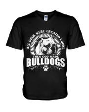 BULLDOG BULLDOG BULLDOG BULLDOG BULLDOG BULLDOG  V-Neck T-Shirt thumbnail