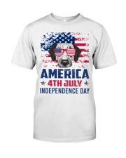 Dalmatian Happy 4th of July - 4th July Classic T-Shirt thumbnail