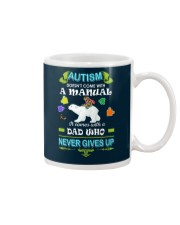 AUTISM DAD NEVER GIVES UP Mug thumbnail